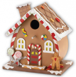 Gingerbread clipart scene