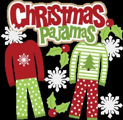 Comfort clipart pajama day