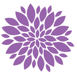Floral clipart flower burst