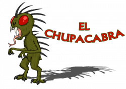 Chupacabra clipart cute