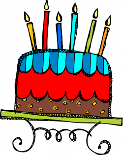 Iiii clipart birthday candle