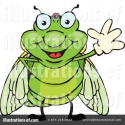 Cicada clipart cartoon