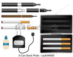 Cigar clipart e cigarette