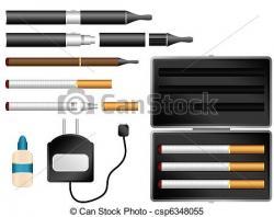 Cigar clipart e cigarette
