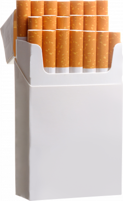 Cigarette clipart cigarette box