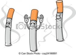 Cigarette clipart sad