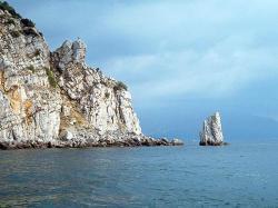 Cliff clipart coastline