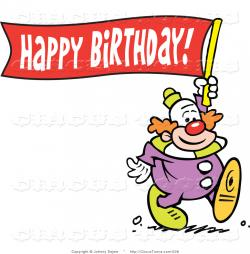 Clown clipart happy birthday