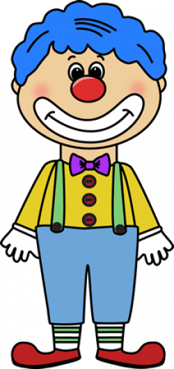 Clown clipart transparent