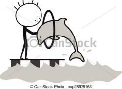 Circus clipart dolphin
