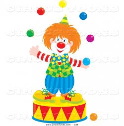 Clown clipart magic