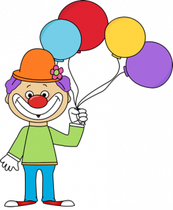 Clown clipart circus theme