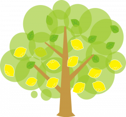Unique clipart cute tree