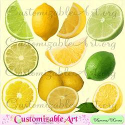 Lime clipart citrus fruit
