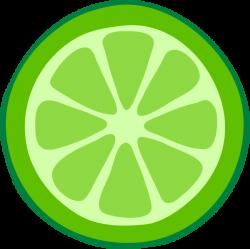 Lime clipart cartoon