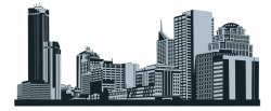 Skyline clipart commercial property