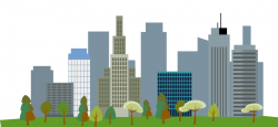 Urban clipart cityscape