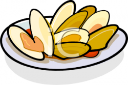 Food clipart clam