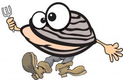 Clams clipart happy clam