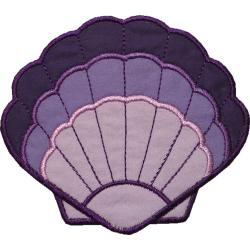 Clams clipart pink seashell
