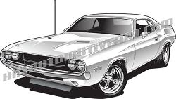 Dodge clipart dodge challenger