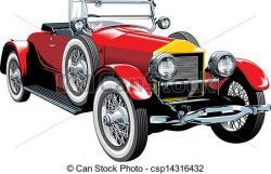 Classic Car clipart nice car