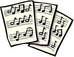 Sheet Music clipart