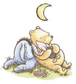 Old clipart winnie the pooh