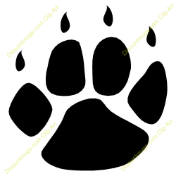 Coyote clipart claw