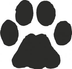 Paw clipart bobcat