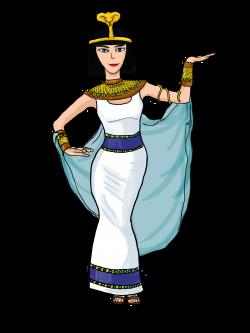 Egyptian clipart cleopatra