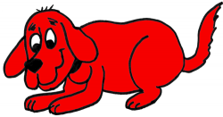 Clifford clipart easy dog