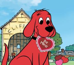 Clifford clipart valentine
