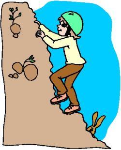 Climbing clipart