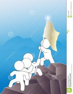 Summit clipart successful person