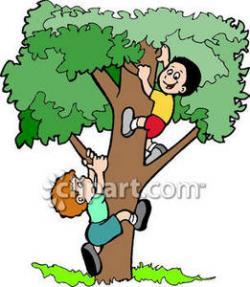 Climbing Tree clipart cartoon