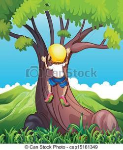 Climbing Tree clipart