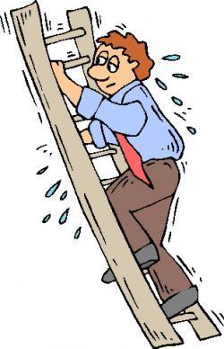 Climbing clipart climbing ladder