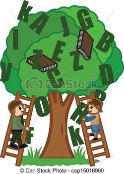 Climbing Tree clipart learning tree