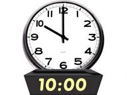 Clock clipart 10 am