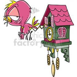 Cuckoo clipart cartoon