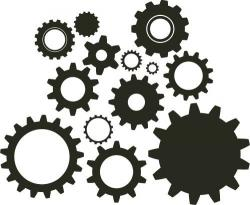Engine clipart gear