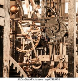 Clockworks clipart mechanical wheel