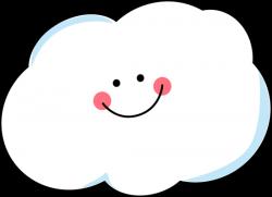 Clouds clipart cute