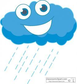 Clouds clipart smiling cloud