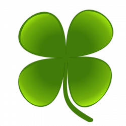Celt clipart four leaf clover