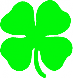 Irish clipart clover