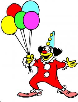 Joker clipart balloon man