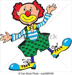 Clown clipart funny
