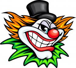 Clown clipart mean